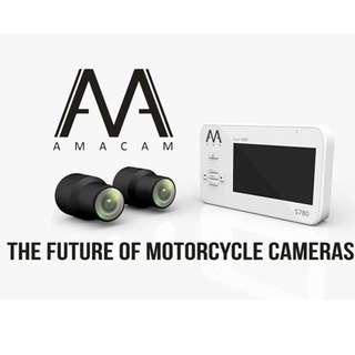 With Installation - S780 1080 FULL HD MOTORCYCLE DVR BY AMACAM