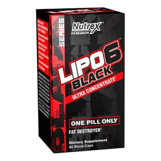 NUTREX LIPO 6 BLACK ULTRA 60CAPS - COD FREE SHIPPING