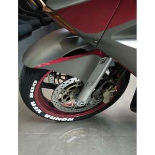 TIRE LETTERING