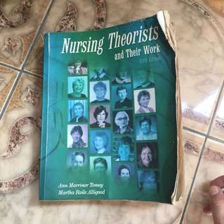 Nursing Theorists 5th edition