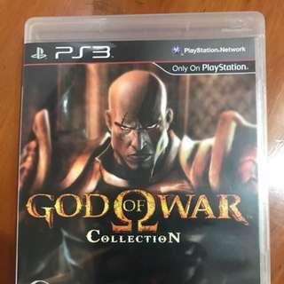 PS3 戰神1+2代 /God of War Collection(英文亞版限制級)(二手)