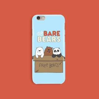 PRE ORDER!! We Bare Bears Casing For Iphone & Samsung