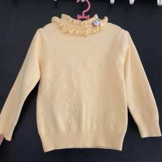 Girl Winter sweater Low turtle neck