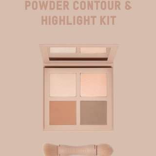 KKW Beauty Powder contour and Highlight Medium shade
