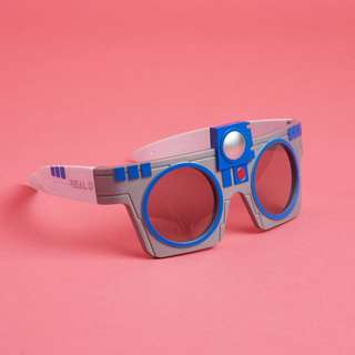 Star Wars R2-D2 3D glasses
