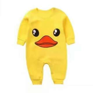 duck jumpsuit
