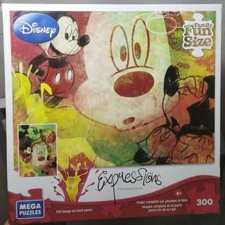 Jigsaw Puzzle 300 pieces  - Mischievous Mickey