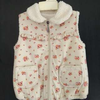 Girls winter vest