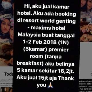 Kamar hotel maxims genting malaysia
