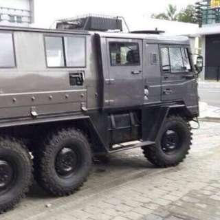 Jeep Pinzgauer 2.5(A) turbo diesel
