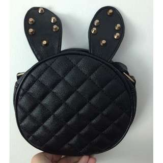 CUTE Rabbit Ear Leather Shoulder Bag