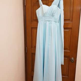 Evening Gown blue