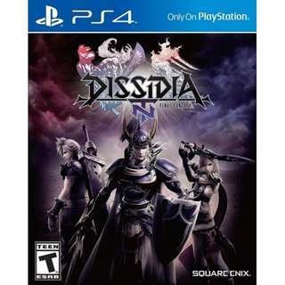 Ps4 Final Fantasy Dissidia NT R3 ( Early Purchase Bonus )