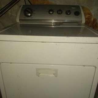 Dryer gas type