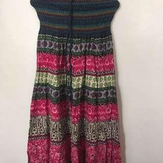 Garterized Tube dress
