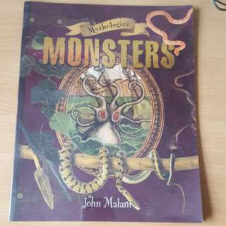 Mythologies monster- John malam