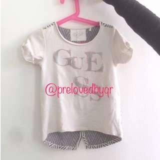 Baju budak perempuan brand guess