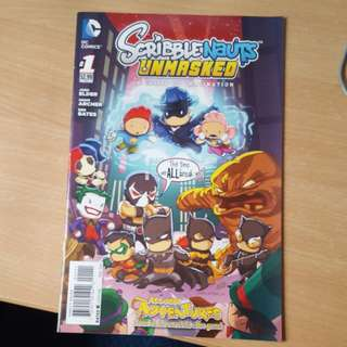 Scribblenauts unmasked issue 1