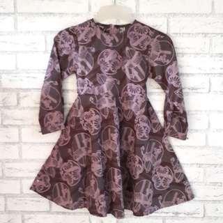 📣DISKON - (New) Gamis anak motif batik unik