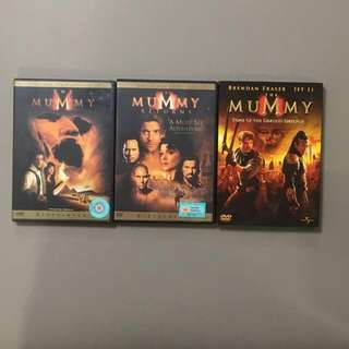 The Entire Mummy series!