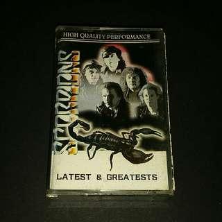 Scorpions (latest & greatest) cassette rock