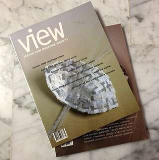 Textile VIEW magazine issue 77 & 93