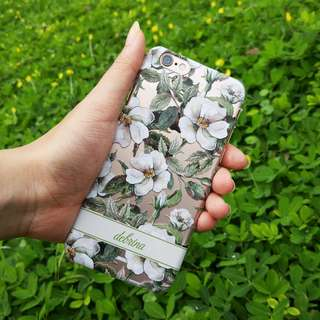 Custom Case Casing HP - Flowers Miracle