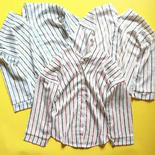 Bershka stripe top