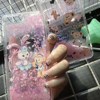 流沙Duffy stella lou iphone case 6/6p/7/7p/8/8p/x 手機殻
