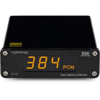 Topping D10 USB DAC DSD硬解