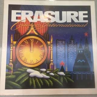 """Erasure – Crackers International, 12"""" EP Vinyl, Mute – 12 Mute 93, 1988, UK"""
