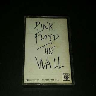 Pink Floyd  (the wall) cassette super rare