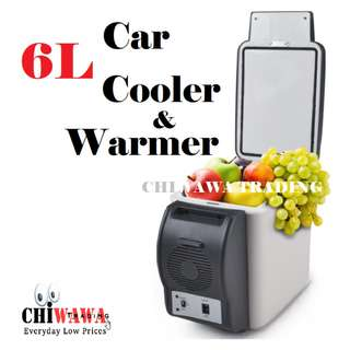6 L Cooling and Warming Car Fridge Refrigerator insulate car outdoor storage box