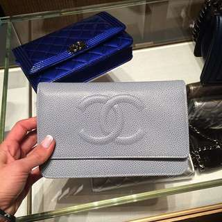 Authentic Chanel Timeless WOC Wallet On Chain Bag $2000!