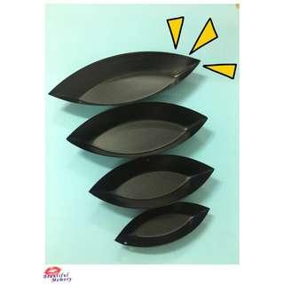 葉子型小烤盤 造形烤盤 派 小蛋糕 使用不沾漆方便脫模  1組4尺寸