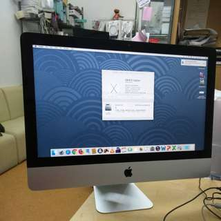 二手iMac 21inch 2.9ghz i5 4cores(2012