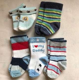 Baby Socks NB to 3m