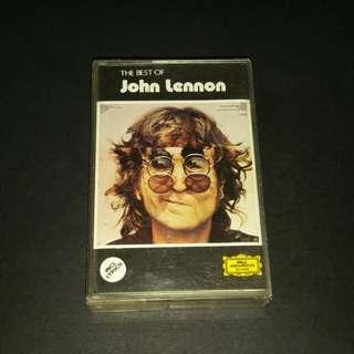 John Lennon  (best of) cassette