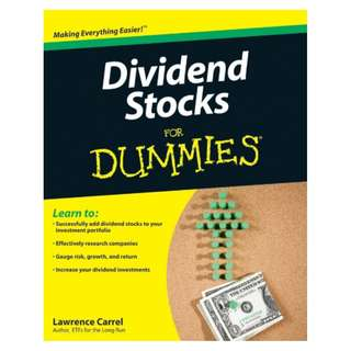 Dividend Stocks For Dummies BY Lawrence Carrel