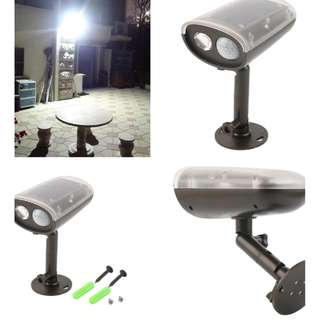 [FREE DELIVERY] 3W LED Light-control Solar PIR Motion Sensor Outdoor Spot Floodlight Security