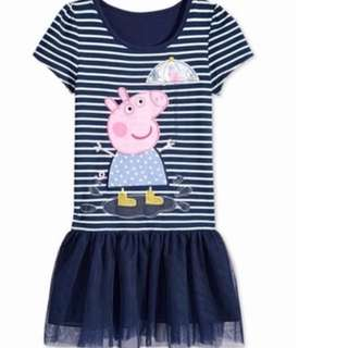 Peppa Pig Dress Brand New Size Available For 3T/4T Gd Quality