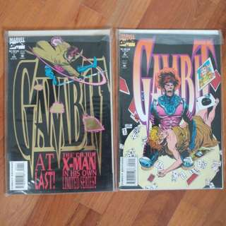 Gambit Full Set X-Men Marvel Comics