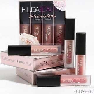 Hudabeauty lip cream matte