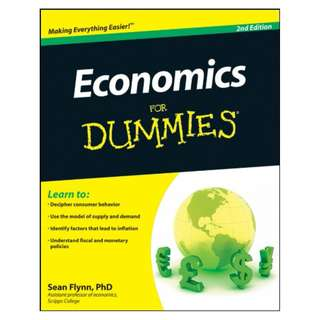 Economics For Dummies BY Sean Masaki Flynn