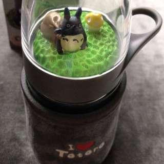 Totoro water bottle ada mainan