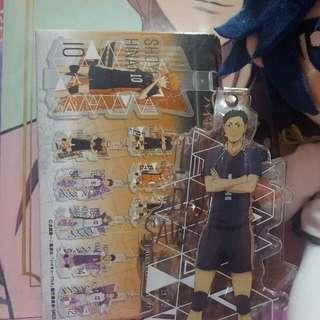 Haikyuu! CharaVinyl Strap - Daichi Sawamura