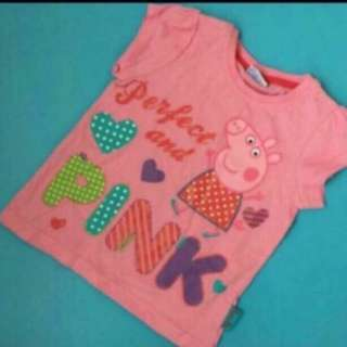 Peppa Pig Top Brand New Size Available for 18 Months To 2yrs Old