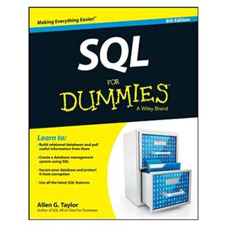 SQL For Dummies 8th Edition BY Allen G. Taylor