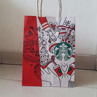 Starbucks Japan Christmas Paperbag