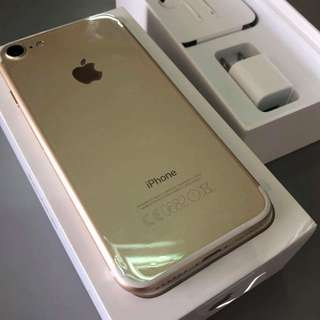 iPhone 7 32GB Gold - Brand New